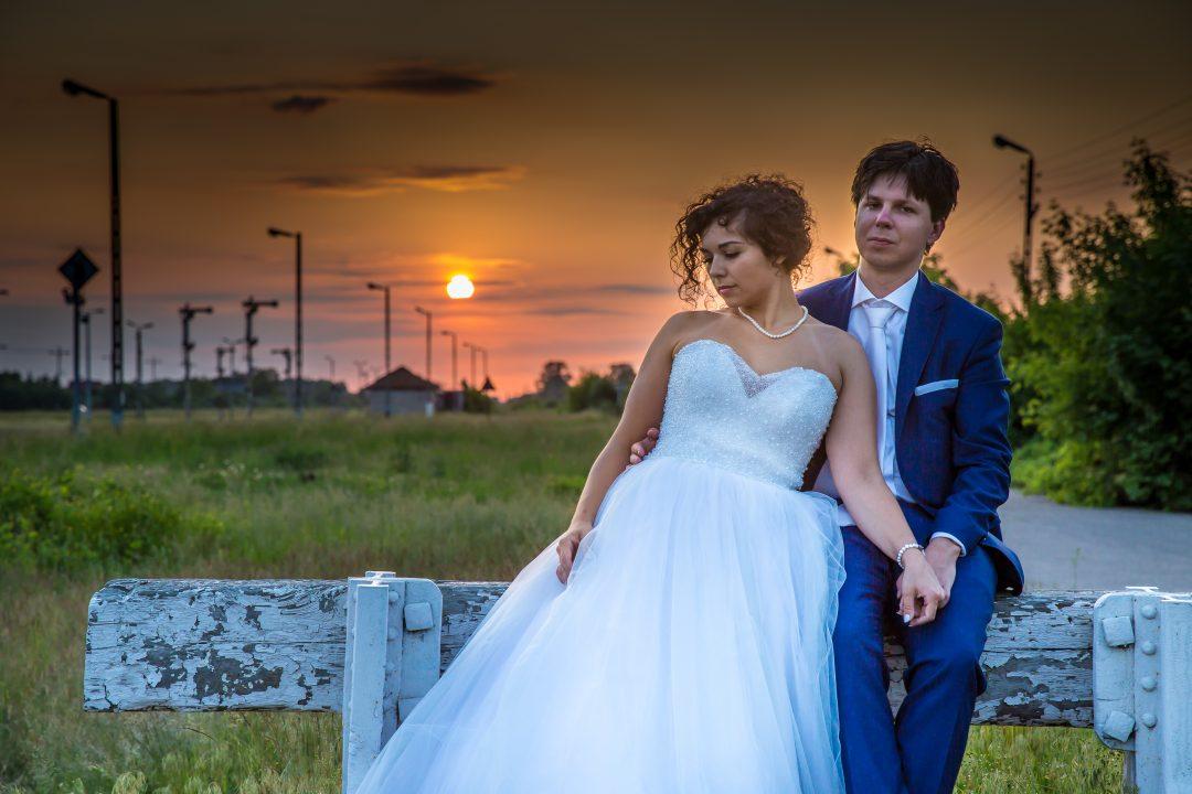 Sesja zdjęciowa – zachód słońca.