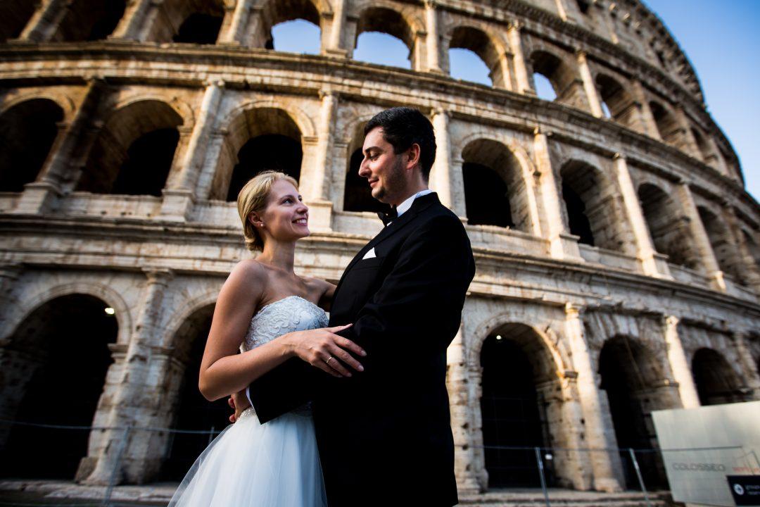 Sesja zdjęciowa w Rzymie